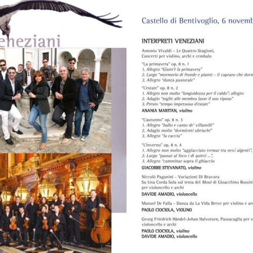 Passacaglia Handel Halvorsen Pianistos: Interpreti Veneziani At The XXth Edition Of The